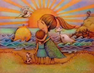 Любовь - всегда внутри нашего сердца